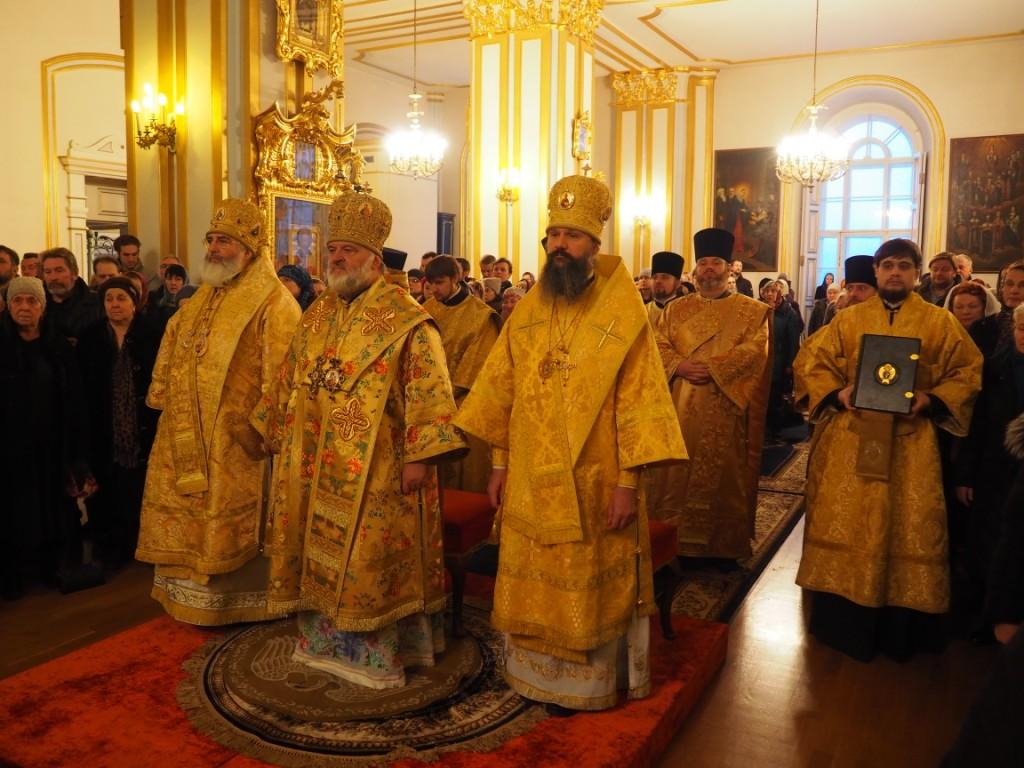 Богослужения престольного праздника