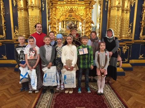 Выпуск воскресной школы собора