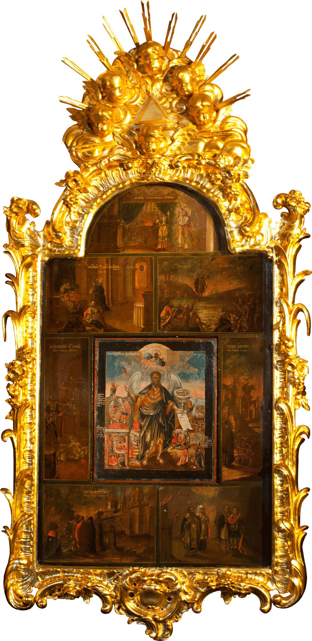 Икона Пророка, Предтечи и Крестителя Иоанна