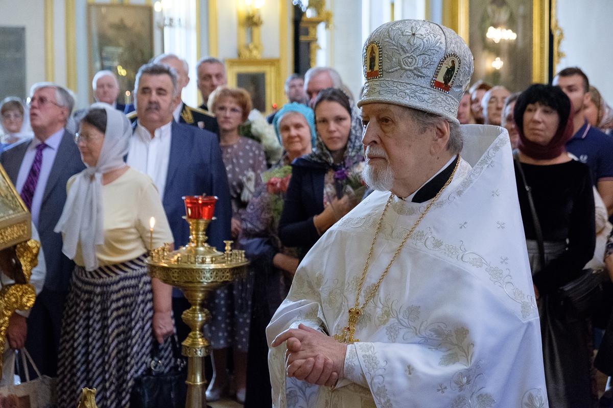 80-летний Юбилей настоятеля собора протоиерея Богдана Сойко