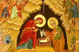Расписание богослужений на праздник Рождества Христова 2013